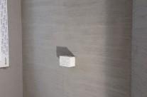 Bagno in resina da parete
